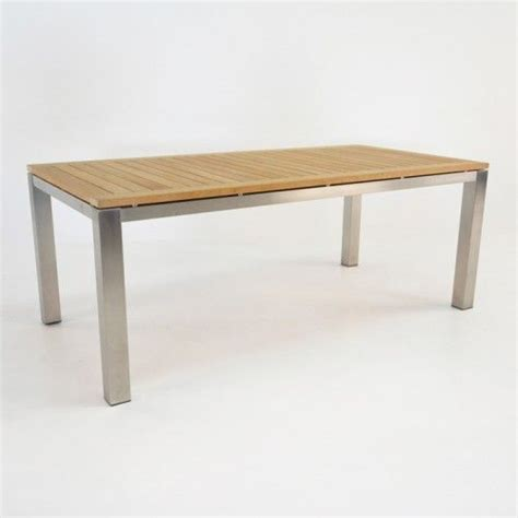 Stainless Steel Outdoor Dining Table 1000 Ideas About Stainless Steel Dining Table On Steel Table Rooms Furniture And