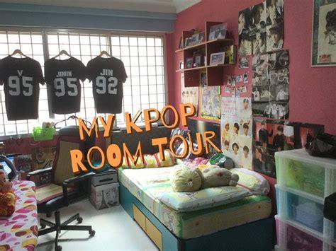 habitacion kpop my short kpop room tour youtube
