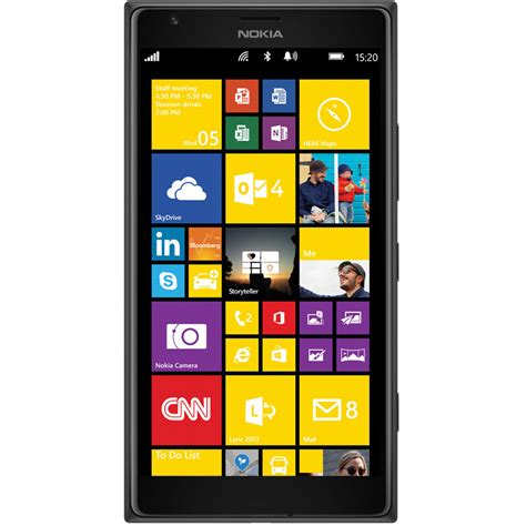 mobile phone nokia lumia nokia lumia 1520 rm 938 32gb smartphone a00016717 b h photo
