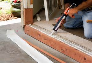 Patio Door Sill Pan How To Replace A Sliding Glass Door Pro Construction Guide
