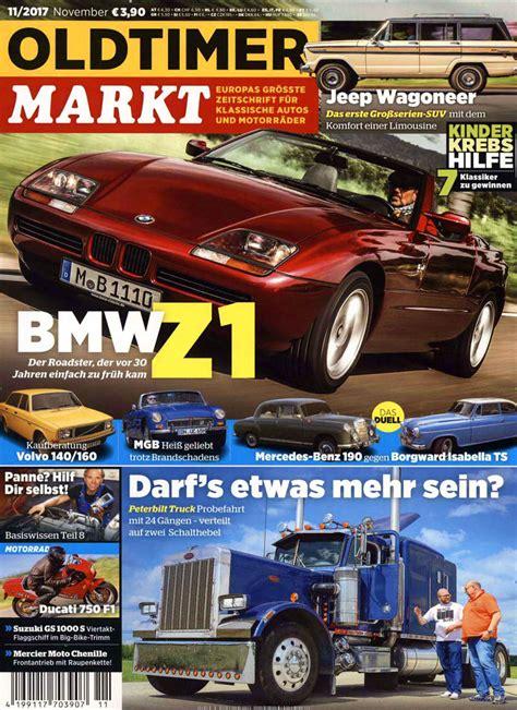 Oldtimer Motorrad Markt Zeitschrift by Oldtimer Markt Abo Oldtimer Markt Probe Abo Oldtimer Markt