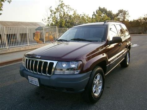 Mpg 2002 Jeep Grand Purchase Used 2002 Jeep Grand Laredo Sport