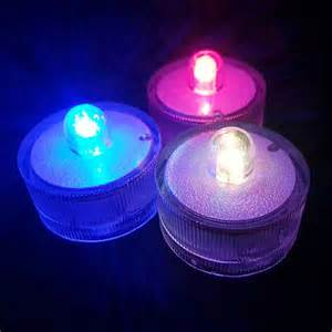 led lights wholesale decoration led tea light colorful battery operated
