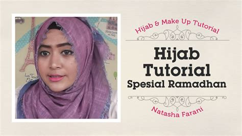 tutorial cetak alis hijab tutorial natasha farani spesial ramadhan perkaya
