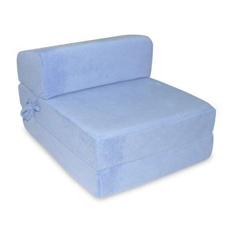Memory Foam Folding Bed Single Memory Foam Z Bed Folding Sofa Bed Chair Guest Bed In Sky Blue Martha H Fleming