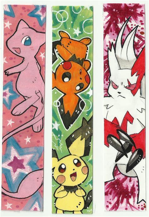 printable bookmarks pokemon pokemon bookmarks by kurigaru on deviantart