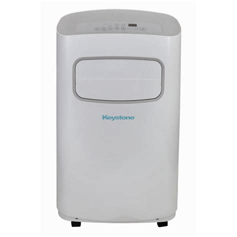 List Ac Portable keystone 12 000 btu 115 volt portable air conditioner with remote in white and gray kstap12cg