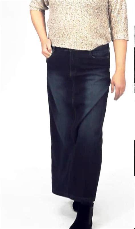 33 best ideas about jean skirts maxi denim skirts