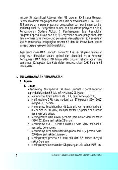 Juknis Dak Bkkbn 2012 juknis dak bkkbn 2014 copy