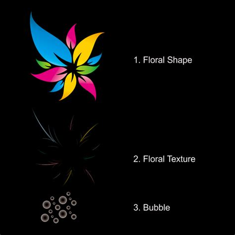 colorful floral logo design in corel draw tutorial corel