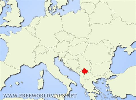kosovo on the world map kosovo map europe thefreebiedepot