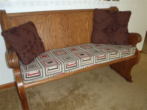 how to make a bench cover bench cushion with piping youtube
