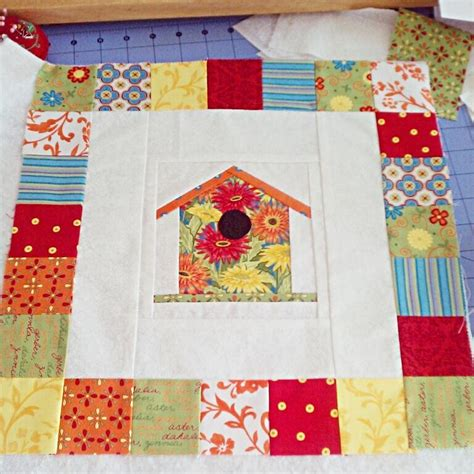 birdhouse quilt pattern paper piecing birdhouse block by hotpinkpeonies craftsy