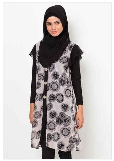 Koleksi Baju Muslim Terbaru 2016 Contoh Foto Baju Muslim Modern Terbaru 2016 10 Koleksi