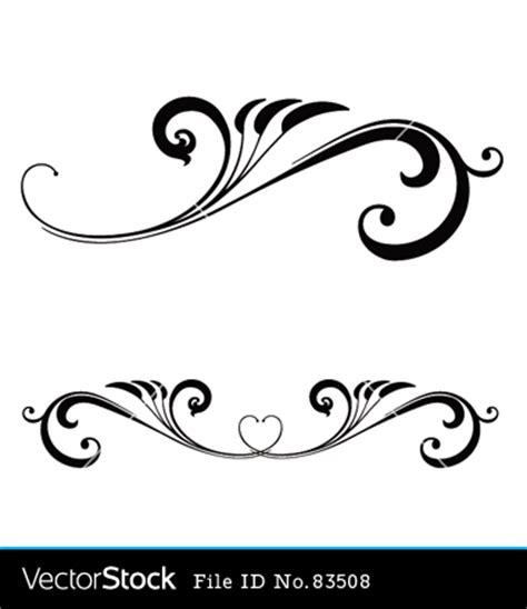 Wedding Scroll Border by Wedding Scrolls Clipart