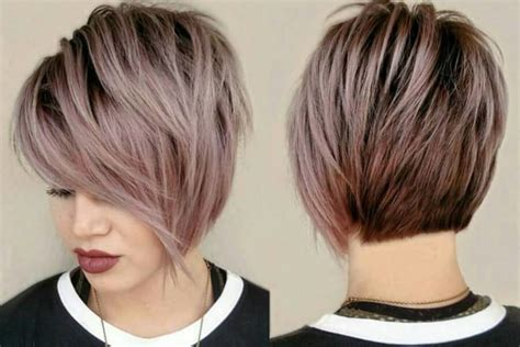 Long Layered Pixie Back Front | long pixie cut hairstyles fade haircut