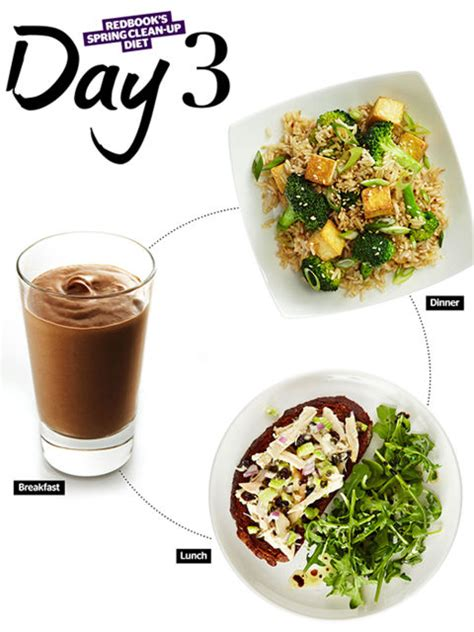 Redbook Detox Recipes by Seven Day Detox Diet One Week Meals And Recipes