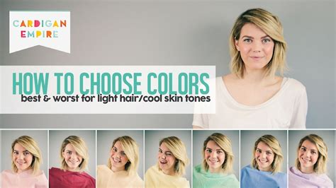 how to pick your best worst colors cardigan empire how to pick your best worst colors light hair and fair