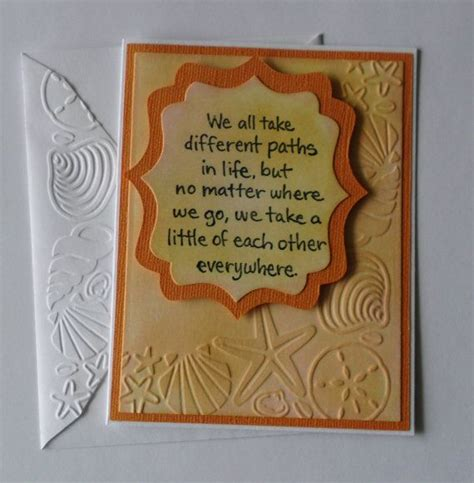Goodbye Handmade Cards - 37 best farewell images on diy cards