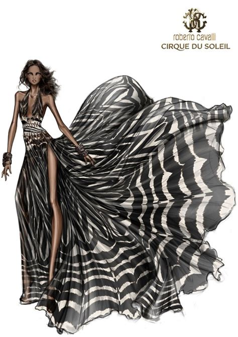 fashion illustration ebook fashion design illustration by roberto cavalli black and