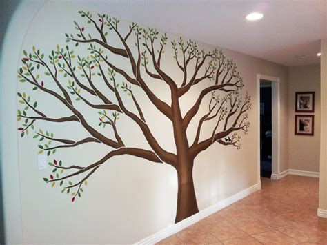 Beatrix Potter Wall Stickers family tree mural entry los angeles by l star murals