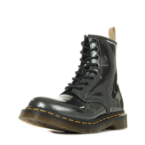 Dr Martens 1460 Vegan dr martens 1460 w vegan chrome gunmetal 23922029 boots femme