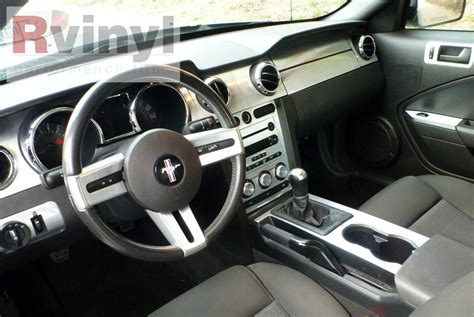 2005 Mustang Custom Interior by Dash Kit Decal Auto Interior Trim For Ford Mustang 2005