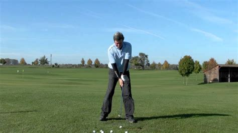 slow motion golf swing from behind perfect same plane golf swing demo best online golf