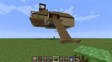the flying house flying house minecraft project