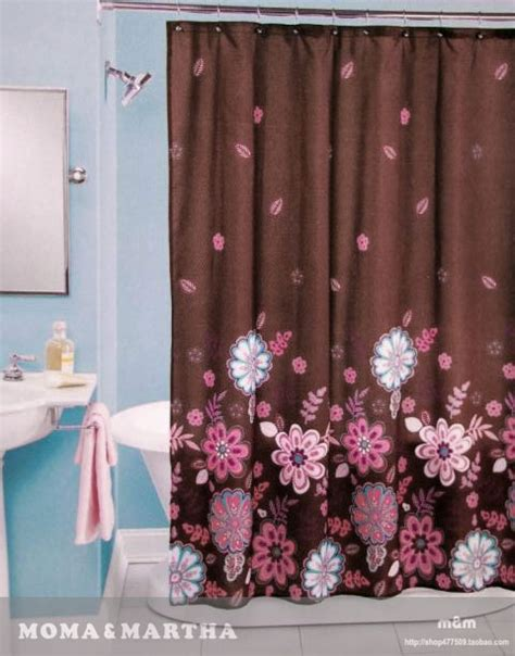pink and brown shower curtains gallery for gt pink and brown shower curtain