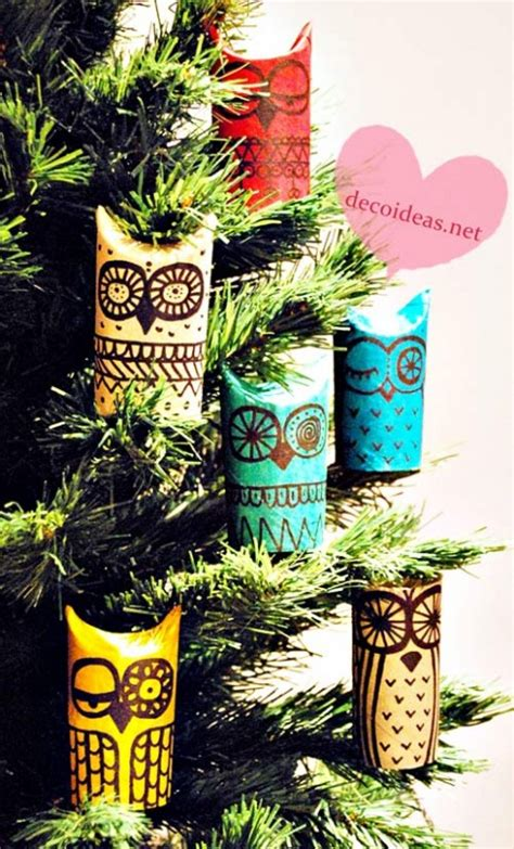 How To Make Owls Out Of Toilet Paper Rolls - diy owls toilet paper roll crafts living locurto