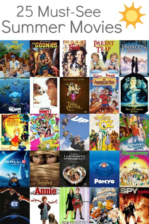family movies 5 fun things to do with the kiddos this summer family