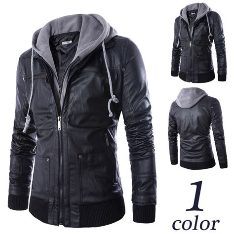 Jaket Hoodie Leather Hoodie Jacket Promotion Shop For Promotional