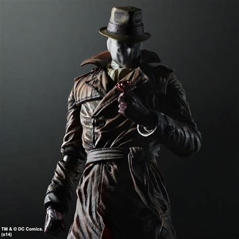 watchmen art of the play arts kai watchmen rorschach photos the toyark news