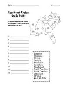 united states map study guide 1000 images about 4 ss southeast region on