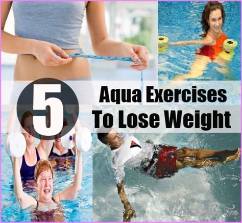 aqua exercises for weight loss latestfashiontips