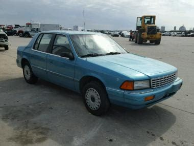 car engine repair manual 1994 plymouth acclaim parking system used 1994 plymouth acclaim car for sale at auctionexport