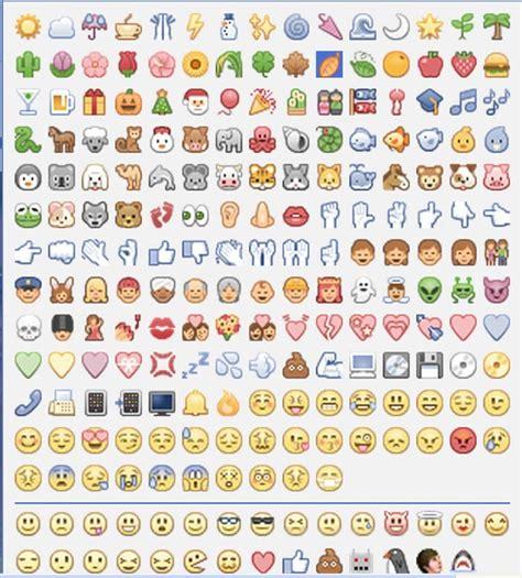 como poner los nuevos emoticones emoji de facebook en nuevos emoticones y caritas en los comentarios de facebook