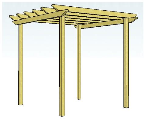 easy pergola plans craftmen simple pergola plans free info
