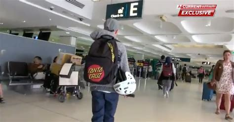 year  boy steals family credit card  flies