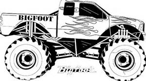 awesome monster truck monster jam coloring pages color luna