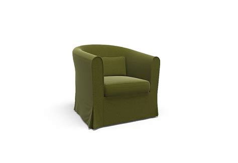 armchair covers ektorp tullsta armchair cover palermo olive by