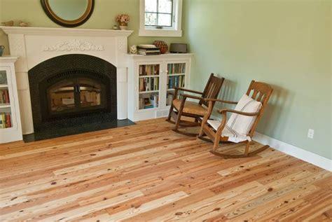 photo  spiegels southern yellow pine flooring