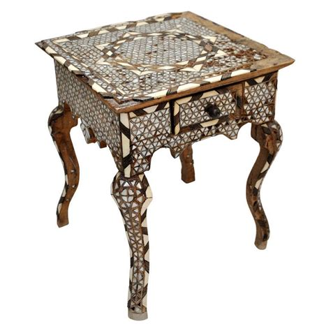 Moroccan Side Table Mosaic Moroccan Side Table At 1stdibs