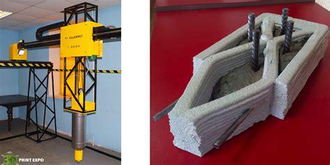 3d Printed Concrete Construction 3dprint Com The Voice 3d House Building Printer