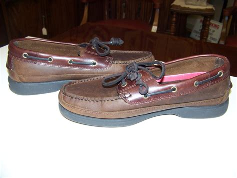 nice boat shoes nice bass leather boat shoes harry ii leather laces acs