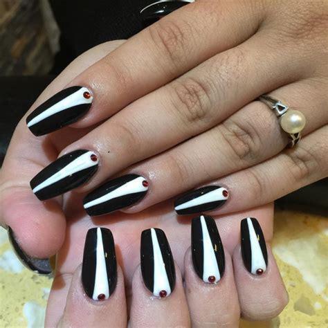 Tuxedo Nail Designs