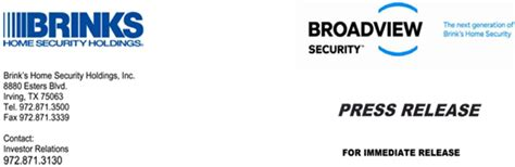 brink s home security holdings inc form 8 k ex 99 1
