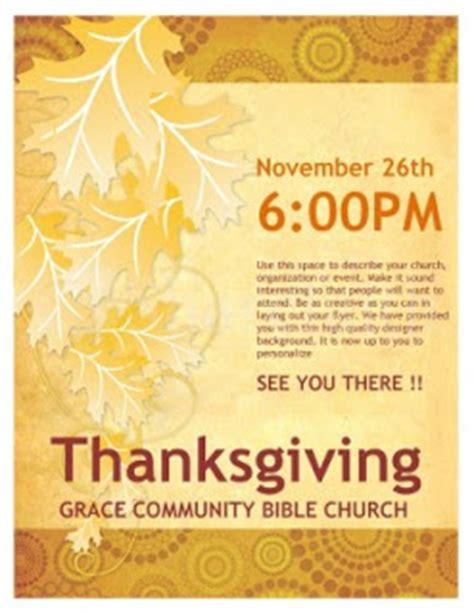november 2009 sharefaith magazine thanksgiving flyer template from sharefaith sharefaith magazine