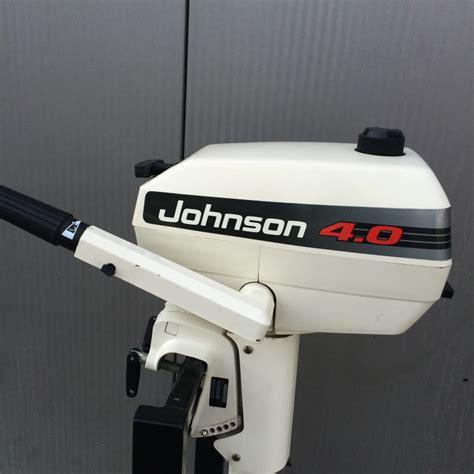 buitenboordmotor johnson johnson 4pk 1 heemhorst watersport